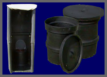 Portable Toilets and Refuse Bins